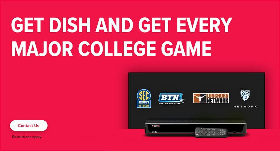 Sports TV Package - College Sports - Poteau, Oklahoma - Southern Star Inc - DISH Authorized Retailer